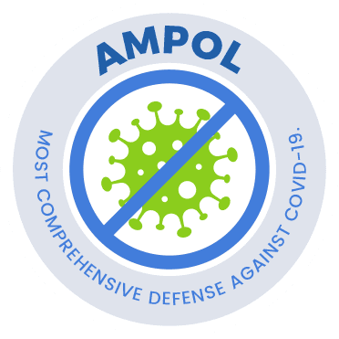 Ampol most comprehensive logo